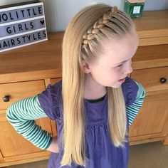 53 Ideas for hairstyles for school toddlers Easy Toddler Hairstyles, Kids Braided Hairstyles, Flower Girl Hairstyles, Little Girl Hairstyles, Hairstyles For School, Headband Hairstyles, Cute Hairstyles, Girl Hair Dos, Girls Braids
