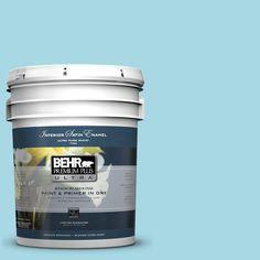 BEHR Premium Plus Ultra 5-gal. #530C-3 Winsome Hue Satin Enamel Interior Paint