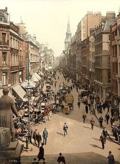 London, Cheapside in the 1890's