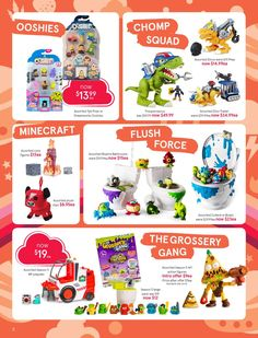 32 page of toys with top brands at Myer Catalogue Toy Sale June Check out all the deals in this catalogue. Toy Sale, Action Figures, Catalog, June, Toys, Activity Toys, Toy