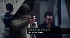 """""""Another cop series with a title sequence designed by Brett & Cie. We made it in april 2013 and just aired now on TV ( just saying that for those who saw World War Z………&…"""