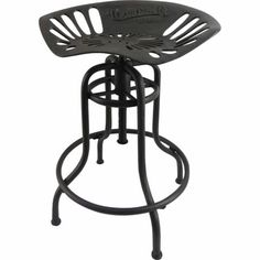 Cast Iron Tractor Seat Stools -- so great for a country kitchen!