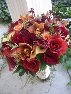 Probably the nicest bouquet I've ever seen... love it.