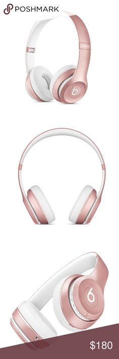 Beats Solo2 Wireless On Ear Headphone Rose Gold Brand new in sealed box Beats Solo2 wireless on ear headphone special edition Rose Gold. Bought it at Apple. I don't really need it that's why im selling it. Apple retail price $299.95 + tax. Beats Accessories