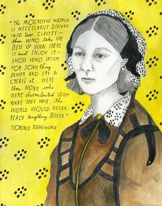 By the time she was forty, British social reformer, mathematician, and statistician Florence Nightingale (May 12, 1820 – August 13, 1910) wa...