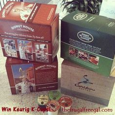 If you love coffee and if you have a Keurig, be sure to enter to win 4 boxes of your choice (24 ct each) of K-cups from Cross Country Cafe!--  ENDS 4/25/13