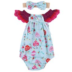 67d28a85ba0 2017 New Cute Newborn Baby Girl Floral Romper Clothes Infant Bebes Lace Jumpsuit  Sunsuit and Headband 2PCS Outfit Clothing Set-in Clothing Sets from Mother  ...