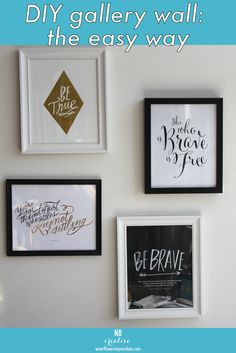 How to Create a Gallery Wall in Less than 15 Minutes-Flo