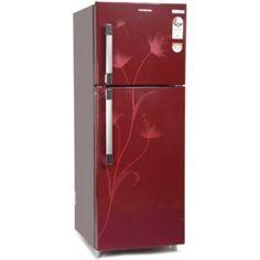 Kelvinator KSP252FRC 245 L Double Door Refrigerator (Red Creeper)
