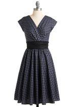 Pretty on the Park Bench Dress in Dots | Mod Retro Vintage Dresses | ModCloth.com