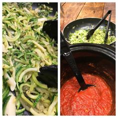 When trying to cut out pasta (carbs), one of the best ways to still get your Italian fix is to switch to Zoodles! Zucchini noodles are a great substitute for regular pasta with the added bonus of being much healthier!