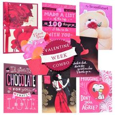 Valentine Week Combo (8 Cards)