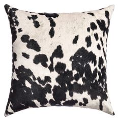 This lovely set of decorative, cow hide pillows will definitely add style and functionality to any sofa or chair. Featuring a knife edge that will coordinate beautifully with your design themes, these pillows are truly attractive.