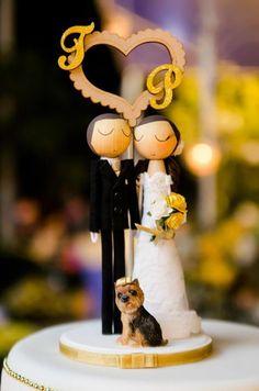 Topos de Bolo para se inspirar! - casar.com