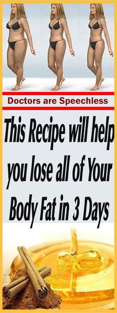 This Recipe will help you lose all of Your Body Fat in 3 Days-Doctors are Speechless – Let's Tallk