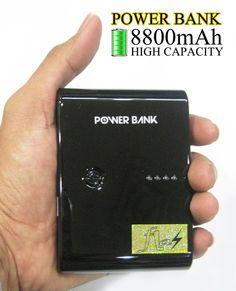 POWERBANK 8.800mah Rp.275.000.-