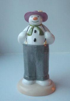 Boxed Coalport Snowman Figure Dressing Up, £17.99 http://www.ebay.co.uk/itm/Boxed-Coalport-Snowman-Figure-Dressing-Up-/261829941802