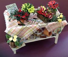 Dolls House Miniatures - Pretty plant stall florists stand