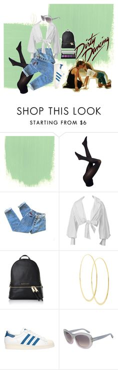 """""""back to the 80s ---> DIRTY DANCING"""" by katxenos on Polyvore featuring Pretty Polly, Michael Kors, Lana, adidas Originals and Tom Ford"""