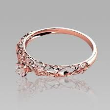 Rose gold is simply gorgeous, so why not use it for your wedding ring? This simple, yet stunning wedding ring is sure to give you heart-eyes. #weddingrings #weddinginspiration #ruralweddings #devonweddingvenue #2016weddings