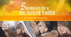 5 essentials for a list-rocking freebie for your coaching biz - The Business Beautician Tool Design, Diy Design, Work Hard, Coaching, About Me Blog, Essentials, Posts, Business, Beautiful