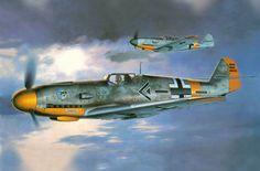 Messerschmitt Bf 109F-2 Werner Mölders, 1941, by Shigeo Koike