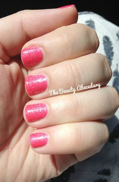 Girly Bits Julia swatch in natural light