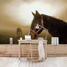 Gyönyörű lovas poszter tapéta az állatok szerelmeseinek - gyerekszobába is alkalmas! #poszter #tapeta #wallmurals #lakasdekoracio #faldekoracio #falidisz #lakas #otthon Horses, Marvel, Berlin, Animals, Products, Animales, Animaux, Animal, Animais