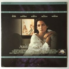 How to make an American Quilt Laserdisc