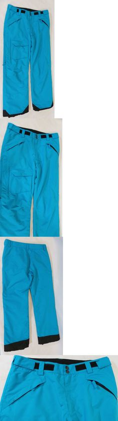 Snow Pants and Bibs 36261: Pulse Mens Rider Ski Snowboard Pants Polyester Blue Large - New! -> BUY IT NOW ONLY: $35.95 on eBay!