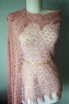 Ravelry: Strawberry Patch Stole pattern by Anniken Allis