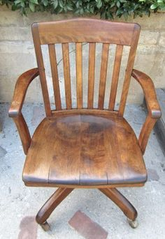 vintage wood desk chair just bought this chair canu0027t wait to refinish it my style pinterest vintage wood desks and woods
