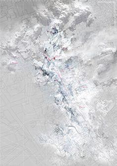 "Atlas of Vanishing Landscapes, ""Glacier 3"" / YuFei Li, AA 2015"