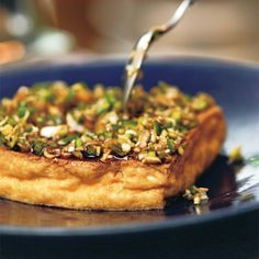 脇役と思われがちな厚揚げも、ミニパンで焼けば、外はカリッと、中はふっくら焼き上がって、立派なメイン料理に。