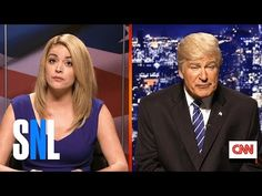 Alec Baldwin Mocks Donald Trump's Apology for Lewd Comments in 'SNL' Cold Open! Vp Debate, Snl Saturday Night Live, Cold Open, Donald And Melania, Trump Cartoons, What Is Trending Now, Kate Mckinnon, Alec Baldwin