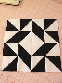 6 - Farmer's Wife Quilt Block with Tutorial.