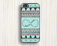 green printing  iphone 5s caseskamara iphone 4s by Emmajins, $9.99