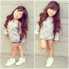 This is what my lil girl is gonna look like ♡