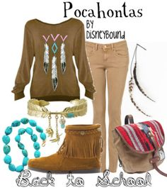 i like this pocahontas outfit the best