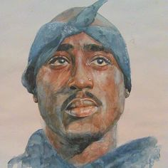 2Pac Art by Luciano Roque