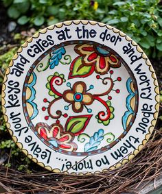 Look at this Floral Key Decorative Bowl on #zulily today!
