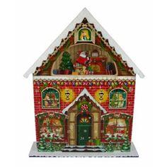 Adorable santa's Attic Advent Calendar!