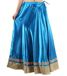 Buy Rajasthan Traditional Satin Full Lehanga skirt online