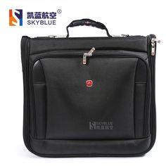 158.30$  Watch now - New arrival Pilot's Suitcase Tote Garment  laptop Bag Men Women Black Multi Function Uniform Business Travel High Quality  #buymethat