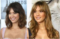 My Precious Nail Polish | Blog Beauté : Hair inspiration ⎥ middle part bangs