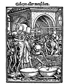 Hans Holbein, 1538, Gebeine aller Menschen
