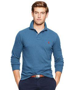 【ZOZOTOWN|送料無料】POLO RALPH LAUREN(ポロラルフローレン)のポロシャツ「カスタムフィット ロングスリーブド ポロシャツ」(MNBLKNIM1H10058)を購入できます。