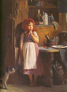 by Quido Mánes (Czech, Romantic Paintings, Beautiful Paintings, Pictures To Paint, Art Pictures, Photos, Arte Country, Cat Colors, Pretty Art, Portrait Art