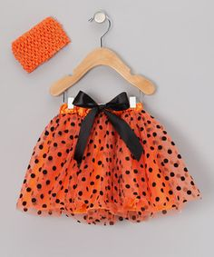 Cute tutu!  Perfect for Halloween this #fall!  found at #zulily!