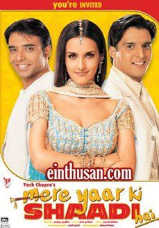 Mere Yaar Ki Shaadi Hai Hindi Movie Online - Uday Chopra, Tulip Joshi, Jimmy Shergill and Bipasha Basu. Directed by Sanjay Gad. Music by Pritam. 2002 [U] BLURAY ULTRA HD ENGLISH SUBTITLE